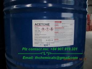 ACETONE - ÐÀI LOAN - PHUY 160 KG
