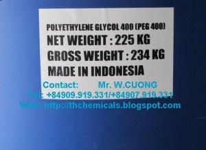 PEG 400 - polyethylene glycol