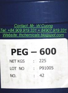 PEG 600 - polyethylene glycol