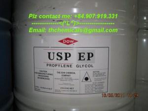 propylene glycol usp grade -dow-phuy 215 new