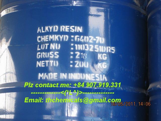 Alkyd resin- chemkyd 6402-70 - phuy