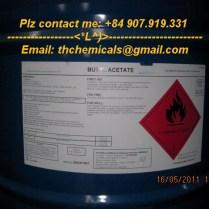 butyl acetate- dung môi son - phuy 180kg