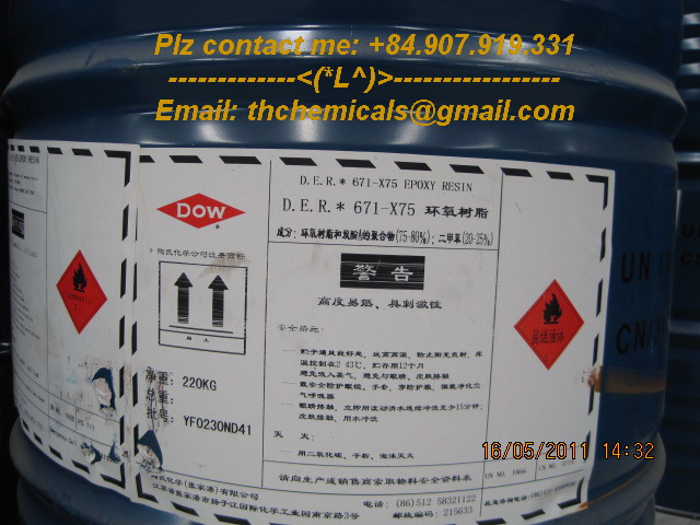 DER 671-X75 - epoxy resin