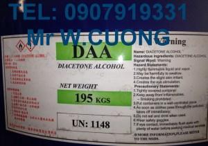 DIACETONE ALCOHOL - DAA-195kg-TaiWan