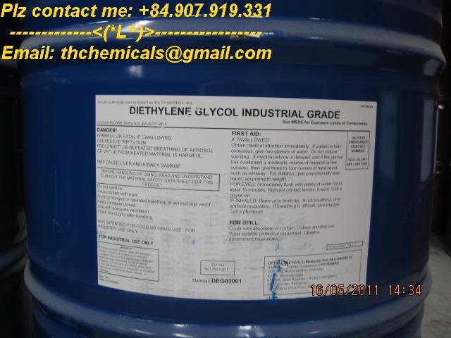 Diethylene glycol - DEG - hoa chat cong nghiep