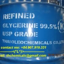 Glycerine 995% -Thailand - phuy 250 kg- duoc pham_2
