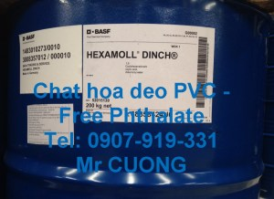 HEXAMOLL DINCH-plasticizer-free phthalate