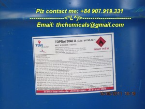 Mineral spirit, Low Aromatic White spirit - Topsol 3040