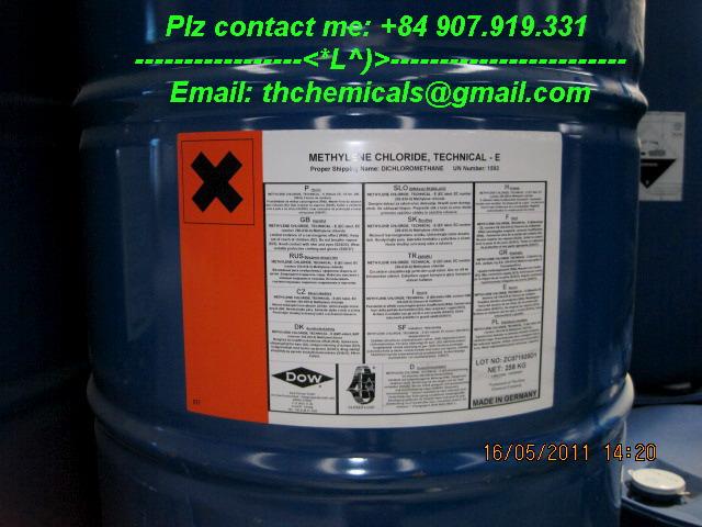 Methylene chloride - MC - dung moi