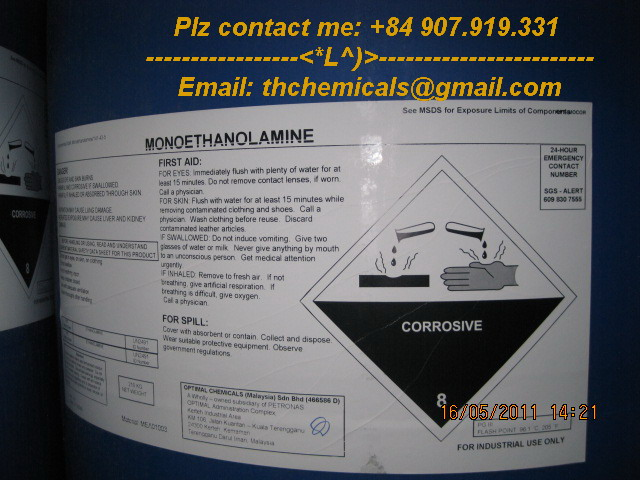 mono ethanol amine - MEA - malaysia - hoa chat phan bon_2