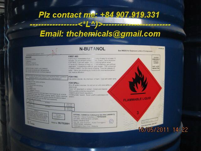 N-butanol - dung moi cong nghiep - malaysia phuy
