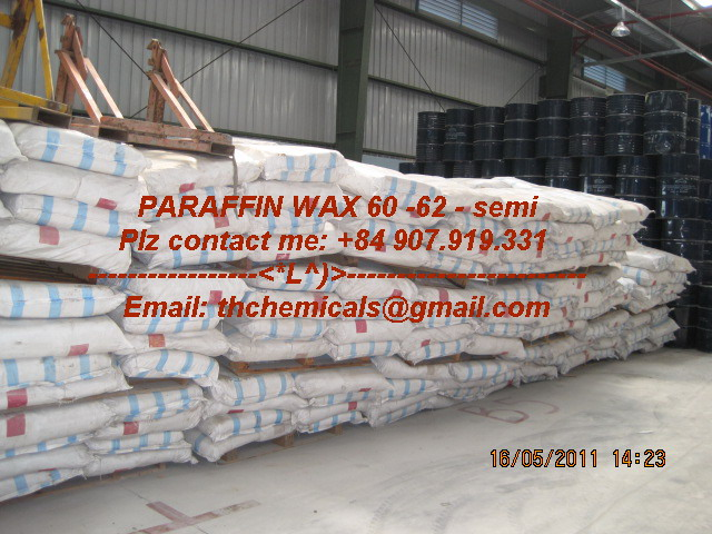 paraffin wax - 60 - semirefine