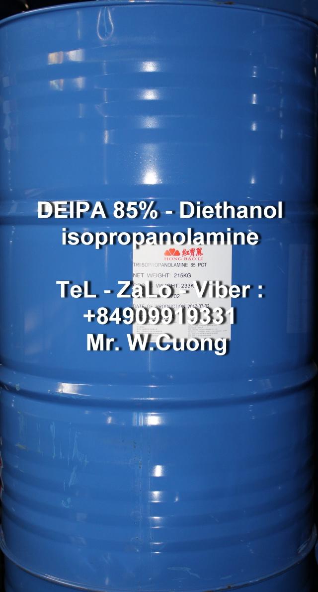 DEIPA-85%-diethanolisopropanolamine-hongbaoli-china-215kg-thchemicals-hoachatsapa-0909919331-banhoachat-giasi-hcm-hanoi-tro-nghien-xi-mang